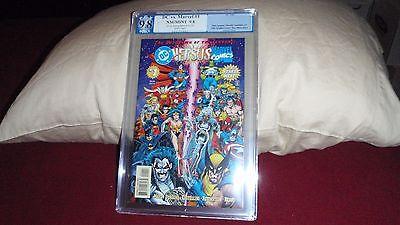DC Versus Marvel / Marvel Versus DC #1 (Feb 1996, DC), pgx 9.8