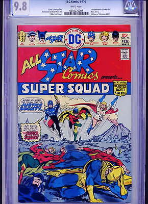 ALL-STAR COMICS #58 CGC NM/M 9.8 WHITE PAGES PERFECT COPY - VERY TOUGH