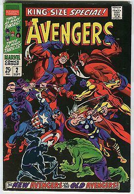 """The Avengers #2 - """"The New Avengers VS. The Old Avengers"""" - (Grade 7.0)WH"""