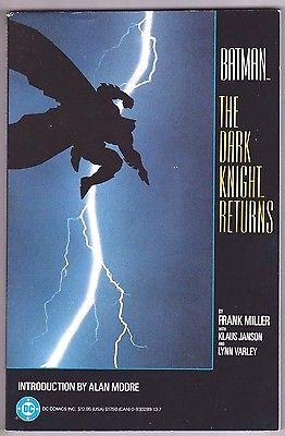 BATMAN  THE DARK KNIGHT RETURNS TPB VF/NM FIRST PRINT 1986 DC COMICS