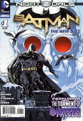 BATMAN ANNUAL #1 (NIGHT OF THE OWLS) - REGULAR COVER - 1ST PRINT - DC 2012