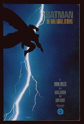 DC Comics BATMAN The Dark Knight Returns TPB #1-4 1st Prints FN/VFN-VFN- 7.0-7.5