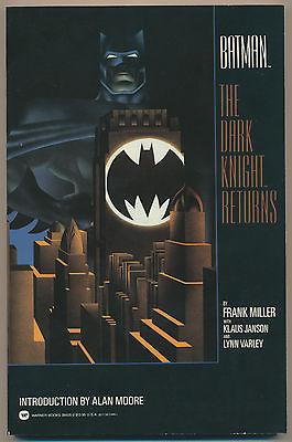 Batman: The Dark Knight Returns TPB - Warner Books 1986 | 8.0 VF