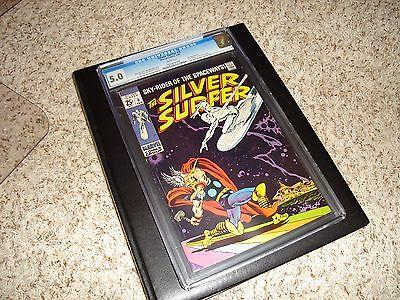 Silver Surfer #4, 1969, vs Thor, Hulk, Fantastic Four, Avengers, CGC 5.0, 1 Book