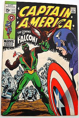 Captain America #117 AND #118 (1969) - 1st App Falcon - Key Issue VF Quality