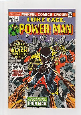 Power Man #17 (#1) NM- 1974 Marvel Comic Luke Cage First Issue of Power Man