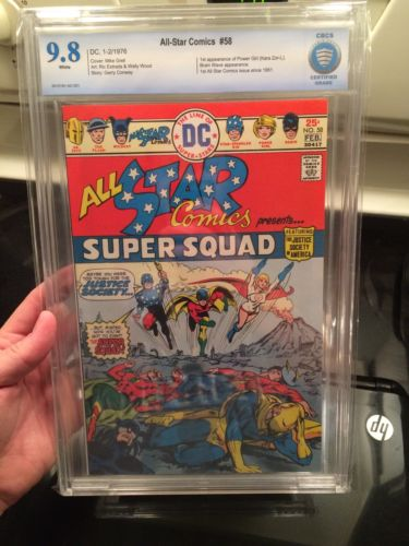 All-Star Comics #58 9.8 HIGH GRADE CBCS not CGC