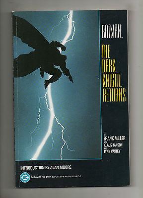 Batman The Dark Knight Returns TPB 1ST PRINTING 1-4 vs Superman F Miller 1986