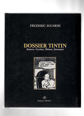 Dossier Tintin par Frédéric SOUMOIS. 1987, Edition originale. NEUF