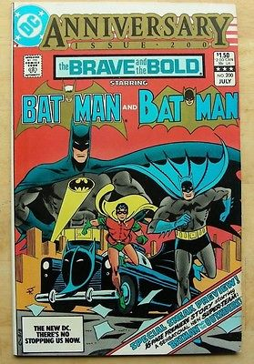 Brave and the Bold #200 VF, 1st Katana, Batman Outsiders, Suicide Squad, $3 Ship