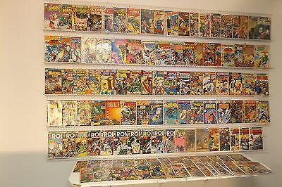 Lot of 120 Silver & Bronze comics Iron Man, Fantastic Four & More