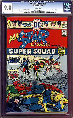 All-Star Comics #58 CGC 9.8 1st Power Girl Last Copy