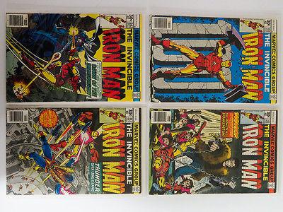 Iron Man #100 to #318 Complete Run High Grade NM+ 9.6 Marvel War Machine Bronze