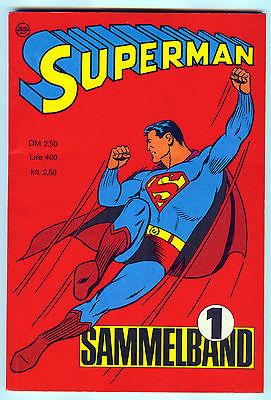 SUPERMAN (Ehapa) Sammelband Nr. 1 von 1966 – sensationell schön