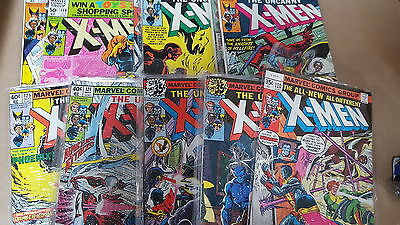 uncanny x-men huge lot of 370 110-541 fn-nm bagged annuals extras 262 244 gambit