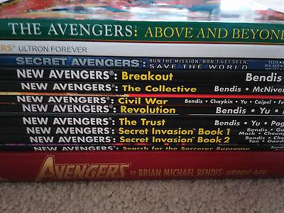 12 Avengers TPB/HC Lot New Avengers, Heroic Age, Secret Avengers, Ultron Forever