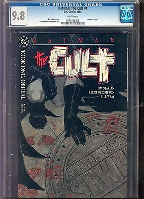Batman: The Cult 1 CGC 9.8 NM/MT * DC 1988 * Wrightson Cover & Art