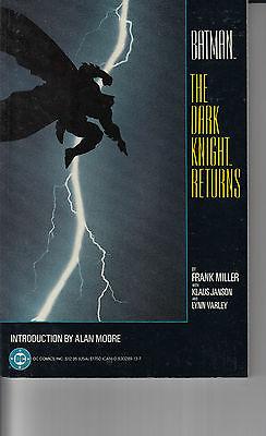 BATMAN THE DARK KNIGHT RETURNS TPB...VF/NM...1986...7th Print...HTF Bargain
