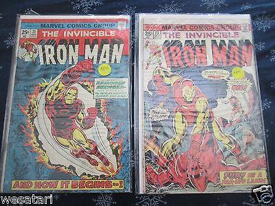 Marvel Iron Man #71,73,102,118,124,126,128,134,135,136,137,140,141,149,170,300,3