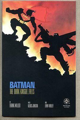 GN/TPB Batman The Dark Knight Returns #4-1986 vf/nm  1st cover Frank Miller Supe