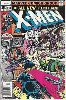 Uncanny X-Men #110 to 116, 7 Issue Set - FINE TO VERY FINE