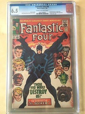 Fantastic Four #46 CGC 6.5 and Avengers #55 CGC 9.0 bundle