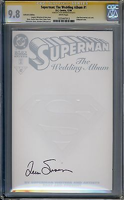 Superman The Wedding Album #1 CGC SS Signed 9.8 Louise Simonson Collectors