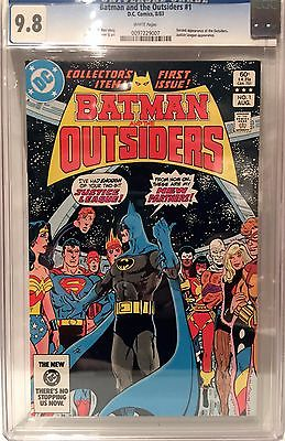 Batman and the Outsiders #1 (1983) - 2nd App of the Outsiders - CGC Grade 9.8