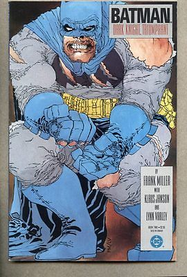 GN/TPB Batman The Dark Knight Returns #2-1986 vf+ 1st cover Frank Miller 1st pri