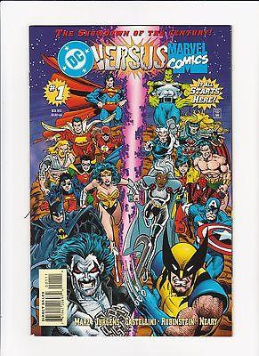 DC Versus Marvel / Marvel Versus DC #1-4 (Feb-May 1996, DC) NM-/NM (9.2/9.4)