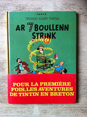 HERGE * TINTIN * LES 7 BOULES DE CRISTAL (AR 7 BOULLENN STRINK) * EO BRETON 1979