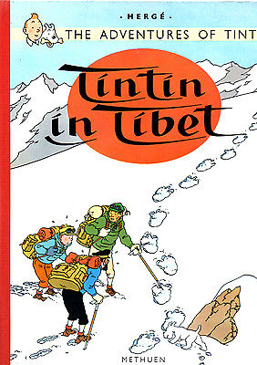 TINTIN IN TIBET EN ANGLAIS EDITIONS METHUEN 1965 2 ème EDITION