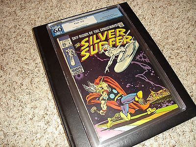 Silver Surfer #4, vs Thor PGX 6.0, not CGC, Avengers, Defenders, 1 nice book