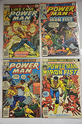 Power Man & Iron Fist #47 to #122 Complete High Grade NM 9.4 Marvel Bronze Comic