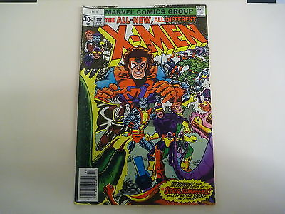 issues #112,107,109,110,118 of the Uncanny X-men comics