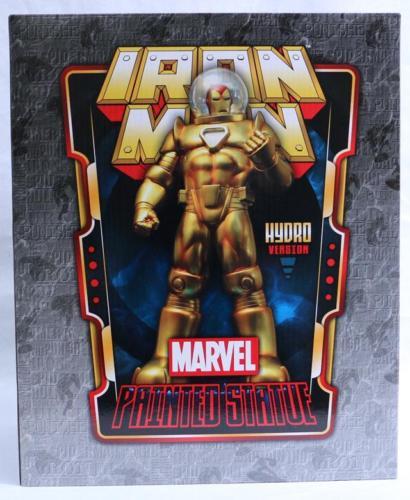 Marvel IRON MAN PAINTED STATUE Hydro Version Bowen Designs #122/750 NIB
