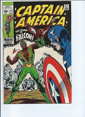 Captain America #117 &118 1st Appearance Falcon -FINE CONDITION Key Issue