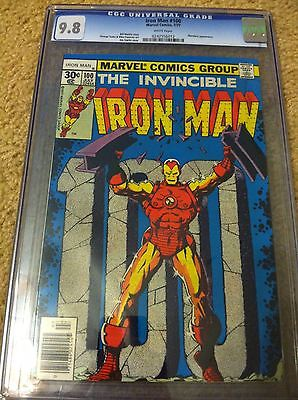 IRON MAN  #100 CGC 9.8 WHITE PAGES CENTENNIAL ISSUE - FREE PRIORITY MAIL SHIP