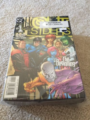 OUTSIDERS V1 #1-50/ANN 1+ BATMAN AND THE OUTSIDERS V2 #1-40/SPEC  COMPLETE SETS