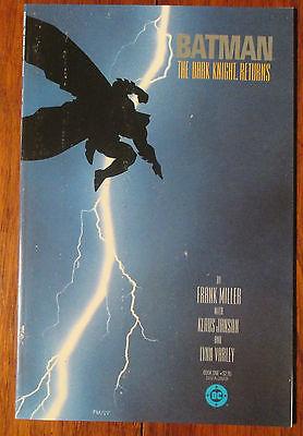 Batman, The Dark Knight Returns, #1, March 1986, First edition TPB