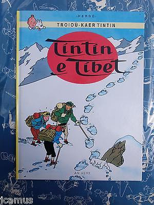 Tintin - Tintin au Tibet en BRETON 1994 AN HERE NEUF RARE