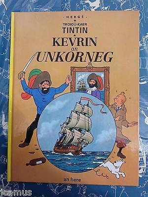 Tintin - Le secret de la licorne en BRETON 1993 AN HERE NEUF RARE