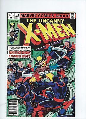 Uncanny X-Men #133 (1980) ICONIC ISSUE CLAREMONT WOLVERINE BYRNE