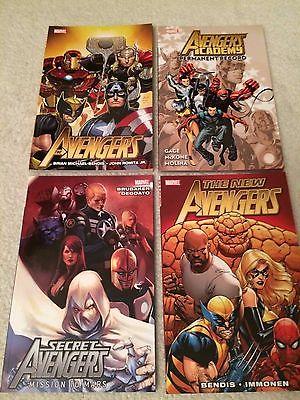 Avengers 4-Pack of TPBs - New Avengers, Secret Avengers, Avengers Academy
