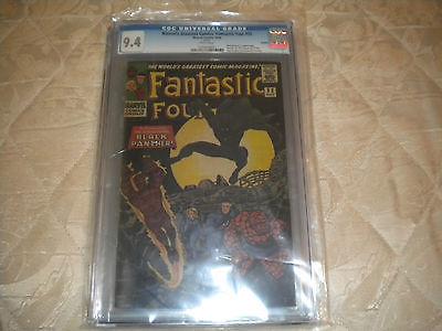 Fantastic Four #52 CGC 9.4  REPRINT 2006  1st App.  Black Panther