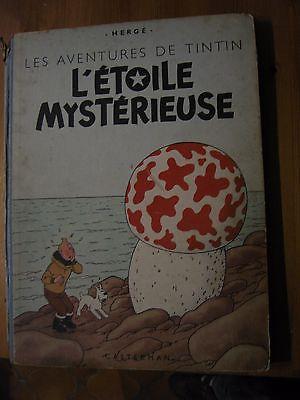 Tintin - L'étoile mystérieuse - édition 1946 ou 1947