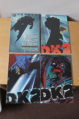 Batman The Dark Knight Returns TPB PLUS Dark Knight Strikes Again Vol 1-3 as new