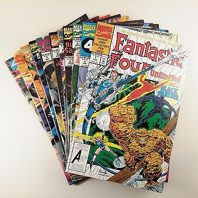 Fantastic Four Unlimited Near-Complete Set (#1-11) NM-/NM+ Black Panther