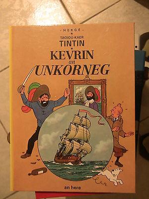 TINTIN BRETON(énorme collection à vendre à Montpellier)