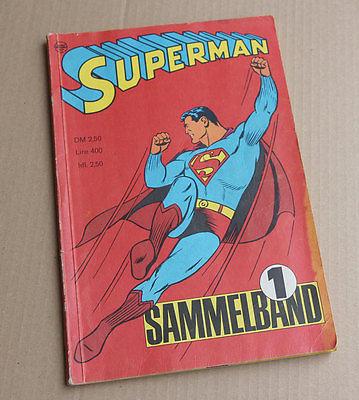 Superman Sammelband (Ehapa, Gb.) Nr. 1